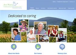 WordPress Website for Memory Care Home