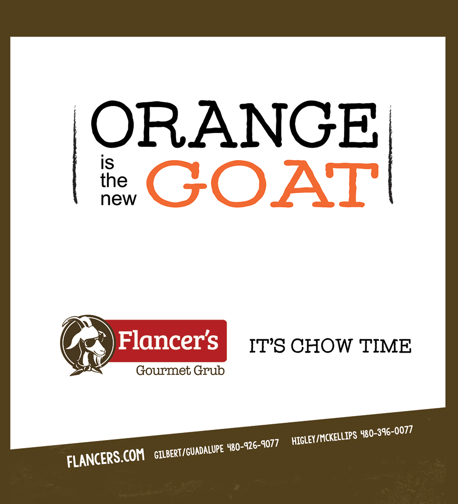 Creative ad design for Gilbert AZ restaurant