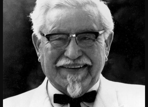 AP PhotoKentucky Fried Chicken founder Col. Harland Sanders.