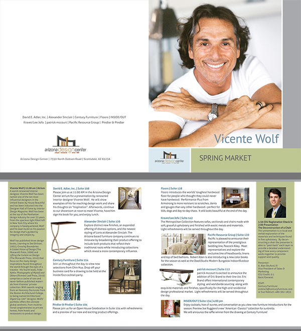 Brochure and promotions for Interior Designer