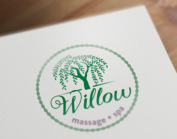 Willow Massage - Branding and design for spa