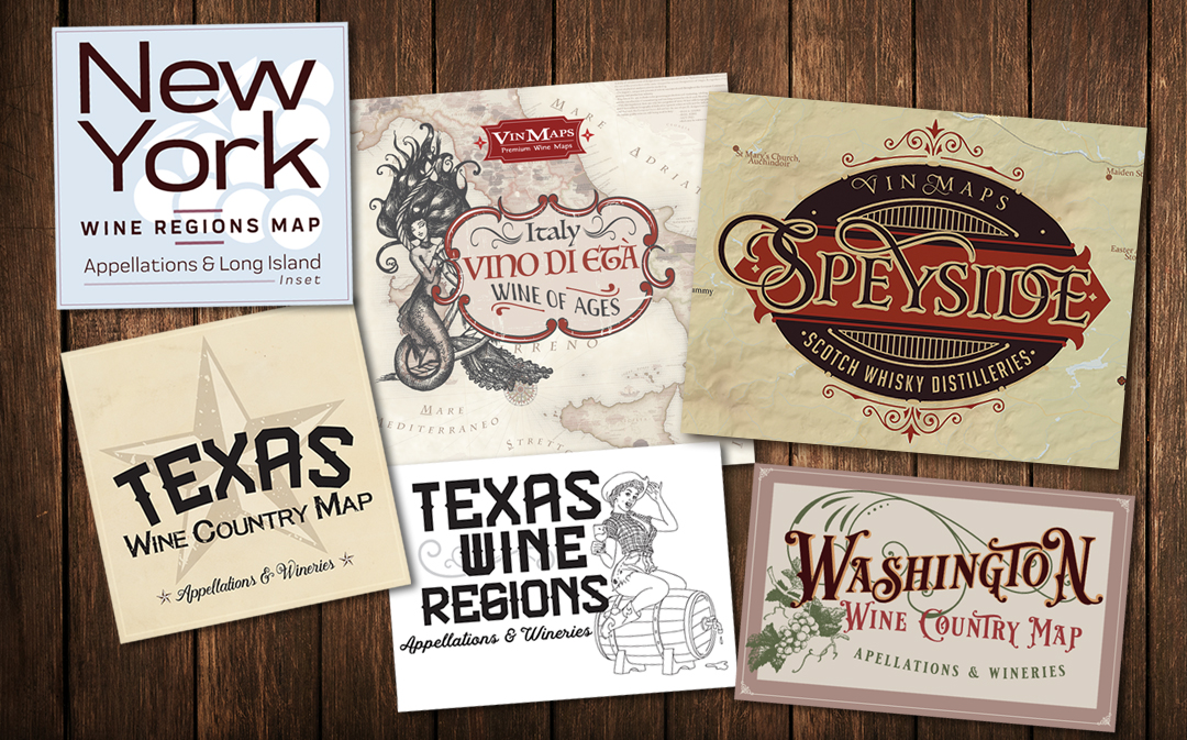 Custom Design Work & Typography Design for Labels