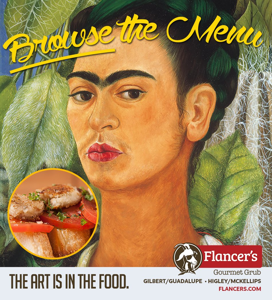 Creative marketing for Flancers Restaurant