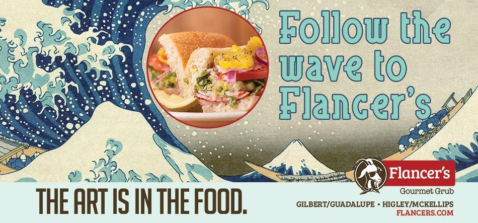 Flancers restaurant creative marketing